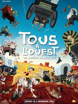 Hành Trình Về Miền Viễn Tây - Go West: A Lucky Luke Adventure (2007) Poster
