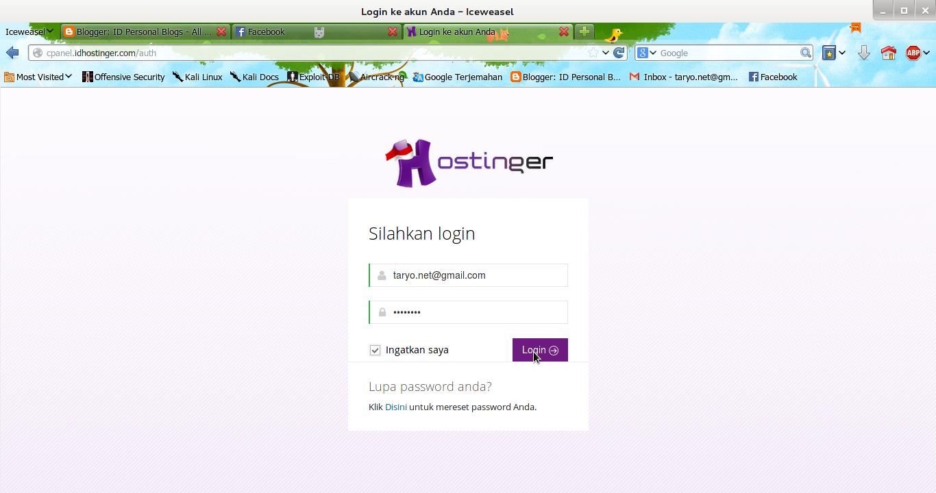 7 Langkah Membuat Domain dan Hosting Gratis di IDHostinger (New!)