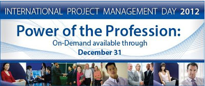 International Project Management Day 2012
