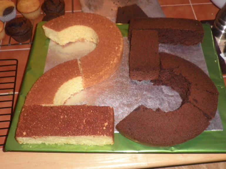 Khymber Cakes Happy 25th Birthday