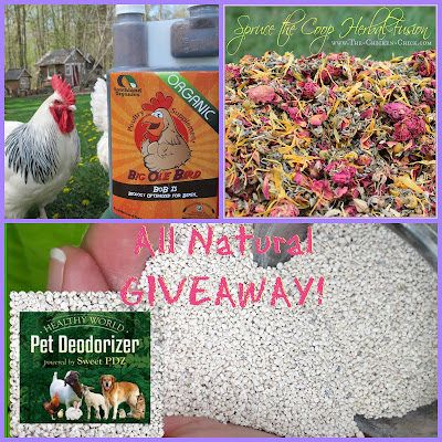 Giveaway at www.The-Chicken-Chick.com