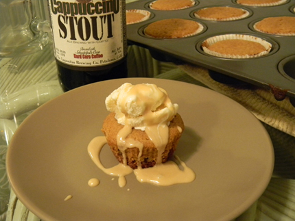 Stout Float Cupcakes