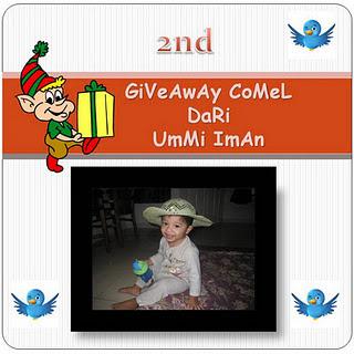 """"""" 2nd Giveaway Comel dari Ummi Iman """""""