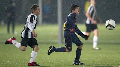 Niño colombiano, la nueva 'estrella' del Barcelona