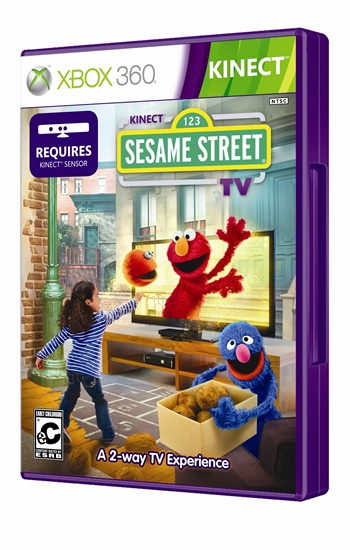 Kinect Sesame Street TV Xbox 360 Español Región Free Descargar 2012