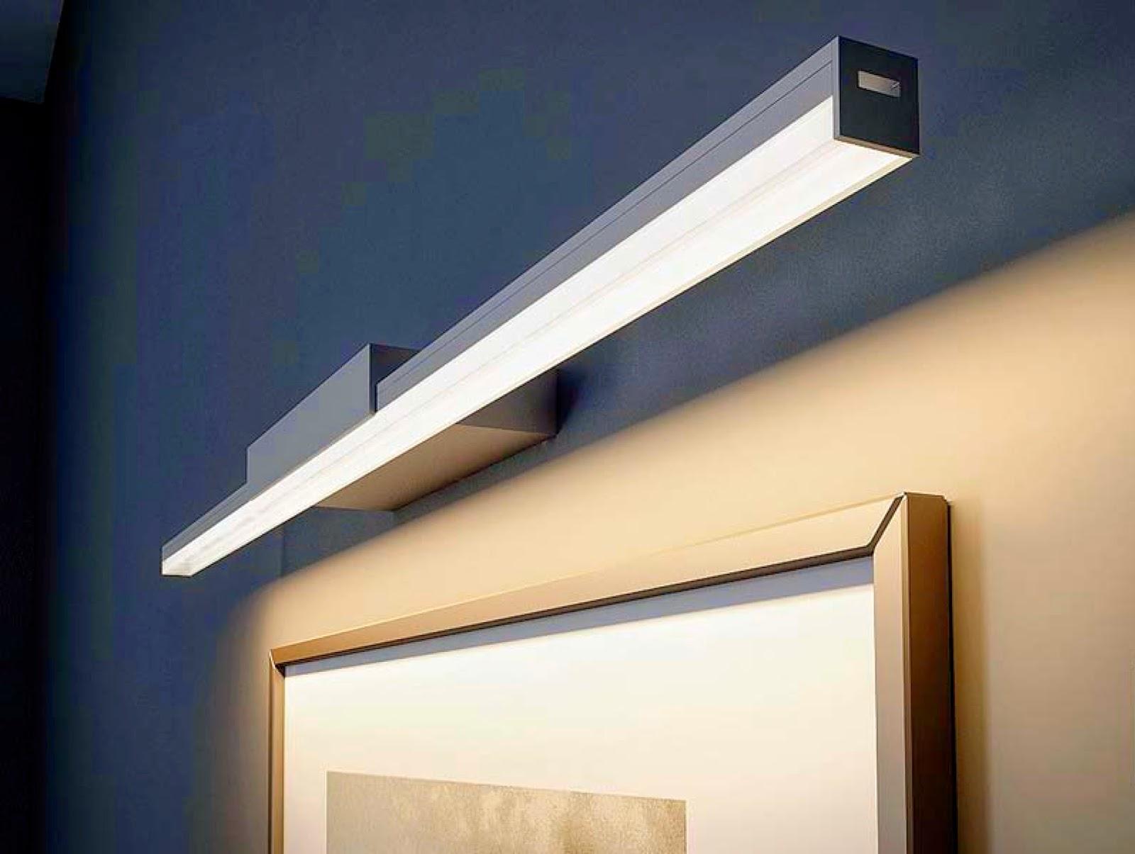 Iluminaci n led perfiles led - Iluminacion de pared ...