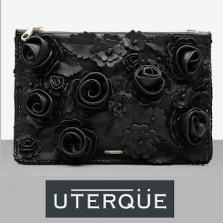 UTERQUE Flowers Clutch