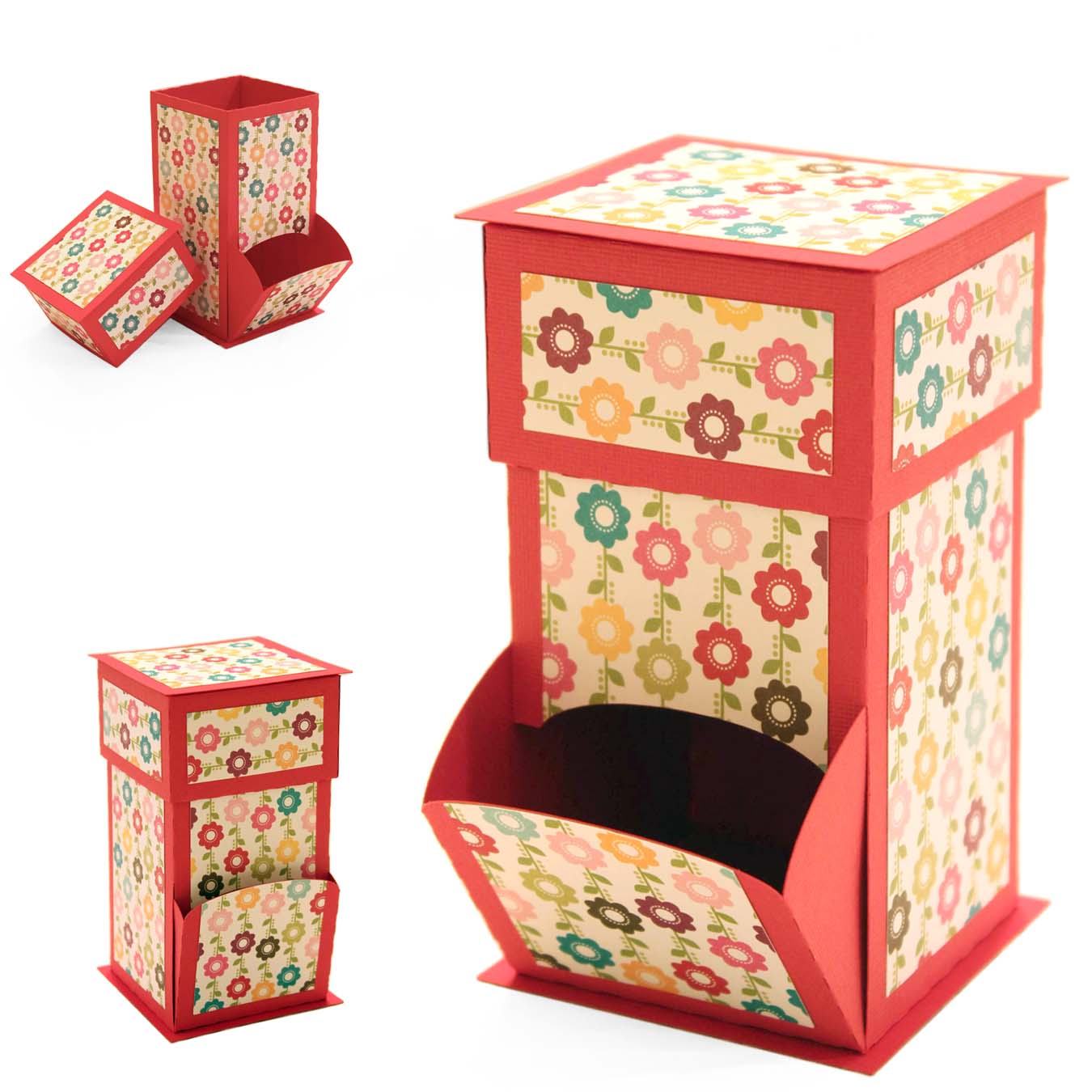 candy gift box template