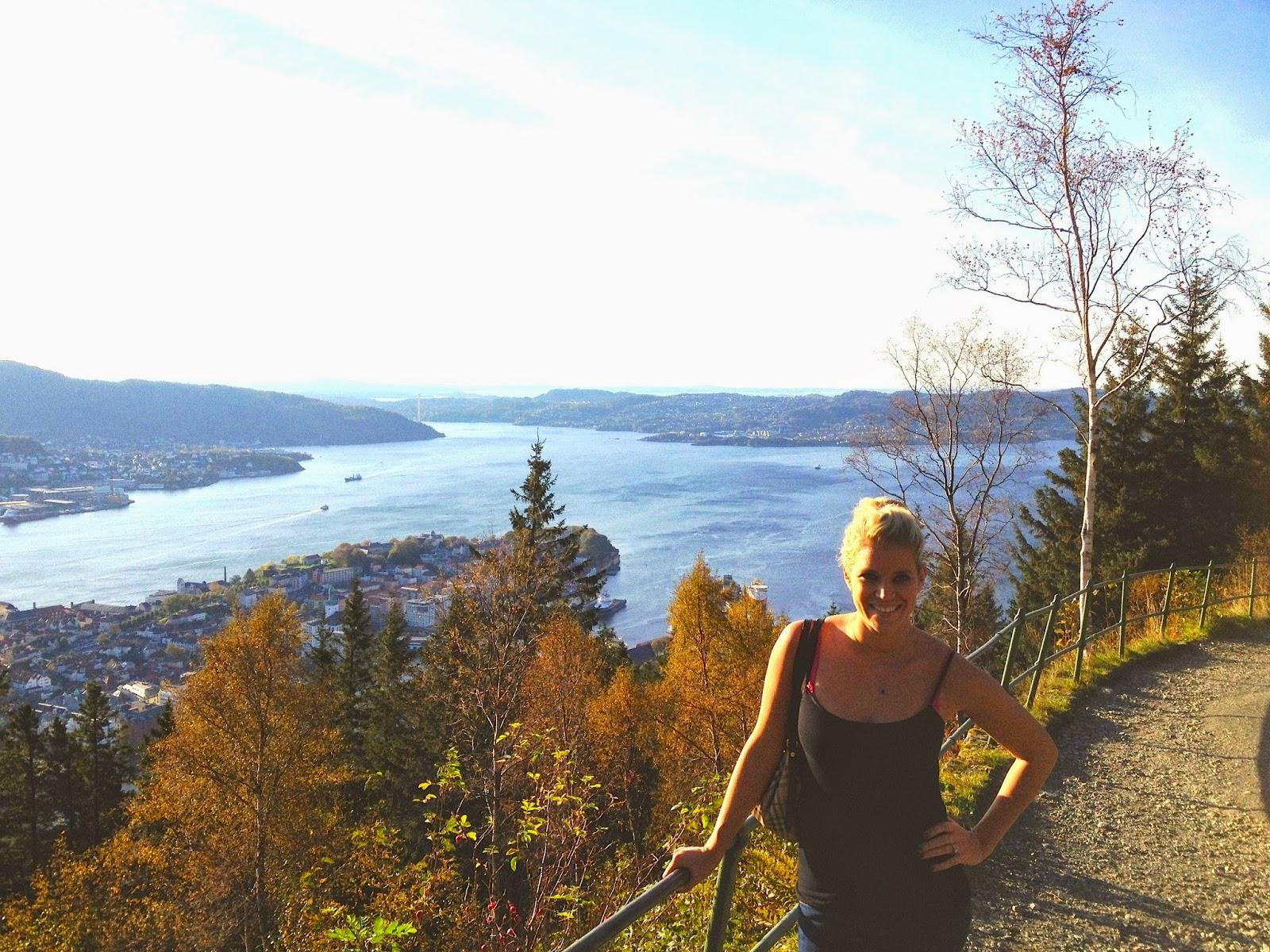 Mount Fløyen hiking