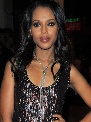 Kerry Washington Sterling Layered Chainlink Necklace
