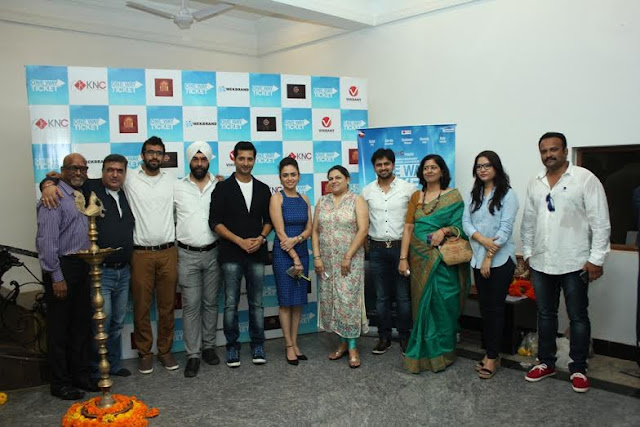 Movie One Way Ticket Muhurat held with the entire team