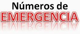 """""""Números de Emergencia"""""""