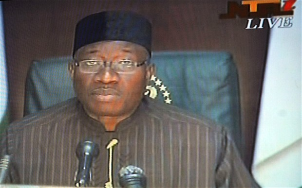 Jonathan declares state of emergency