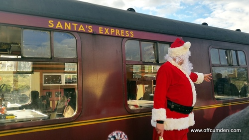 Santa Steam Train
