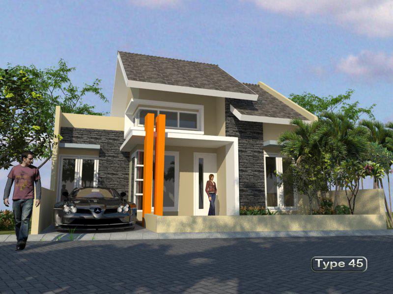 perumahan murah madiun rumah type 45