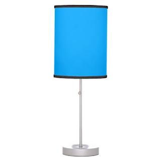 Beach home decor accent lamp