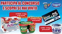 Logo Partecipa e vinci la spesa da Carrefour con i prodotti Danone