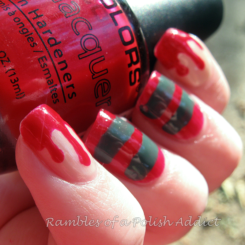 Nightmare on Elm Street Nails! | Rambles of a Polish Addict