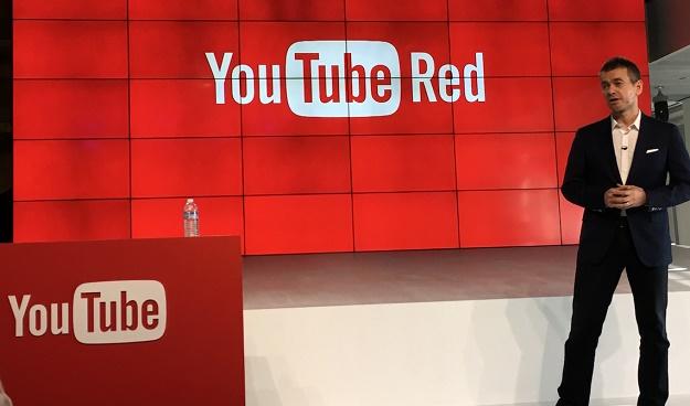 احصل على اليوتيوب الأحمر