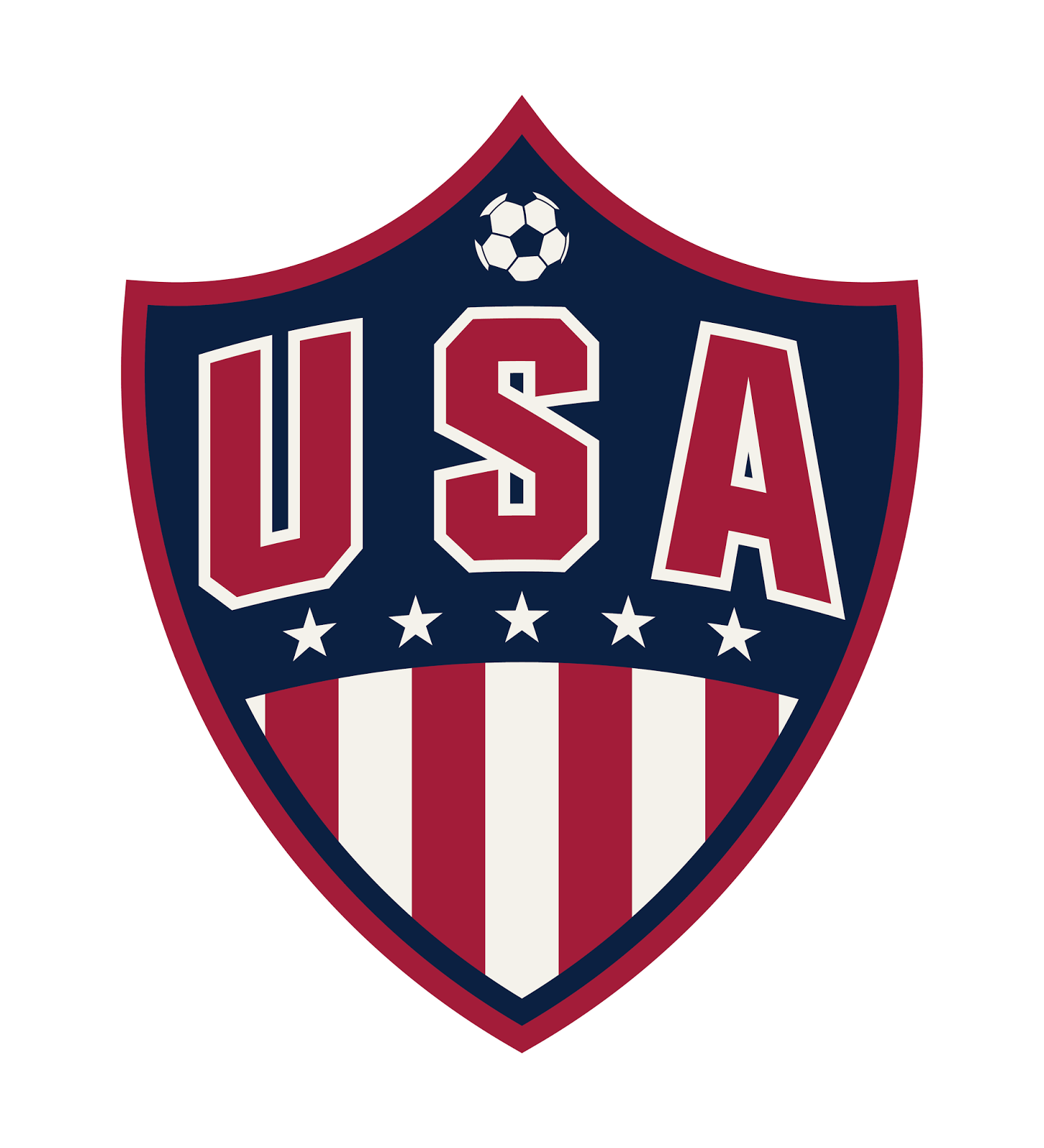 goal line design team usa soccer logo
