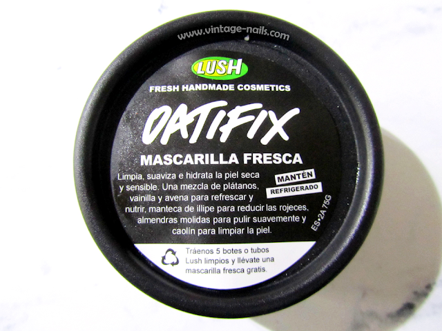 Lush, Oatifix, cruelty-free, vegan, cosmetica natural
