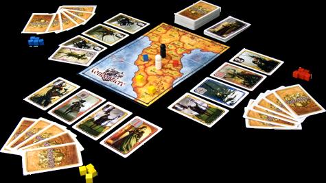 Condottiere juego de cartas