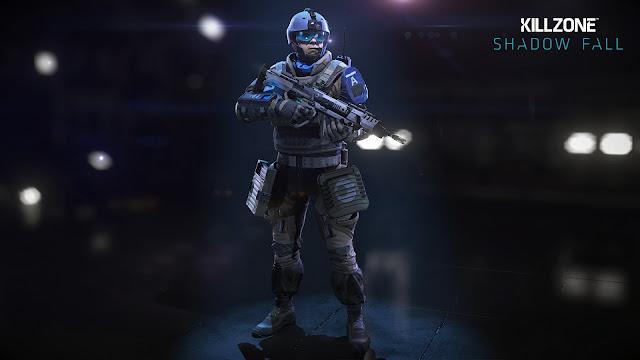 Assault Class In Killzone: Shadow Fall