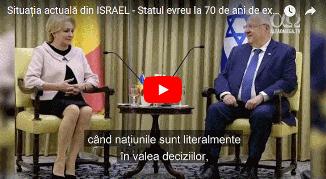 ✡ Situația actuală din ISRAEL 🔴 Statul evreu la 70 de ani de existență 🔴 Mai 2018