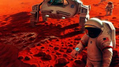Tinggal di Planet Mars Terwujud Bukan Hanya di Film