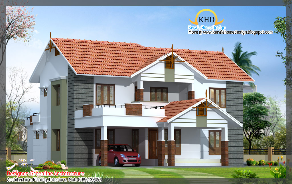 Kerala home design and floor plans 16 awesome house elevation designs - Design of home ...