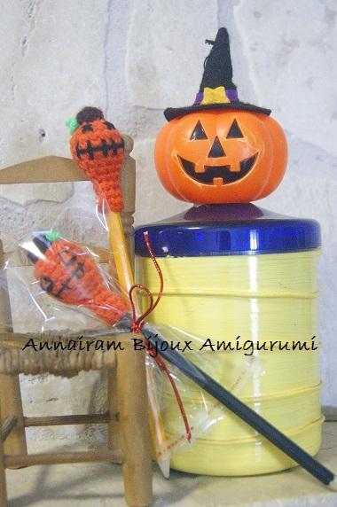 Matite zucca amigurumi per Halloween - idee creative ...
