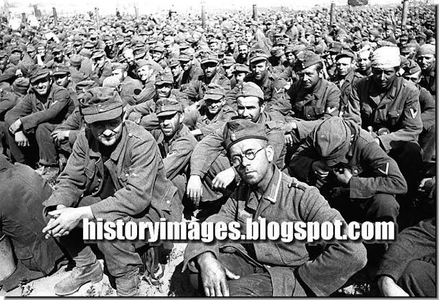 Millions German soldiers prisoners