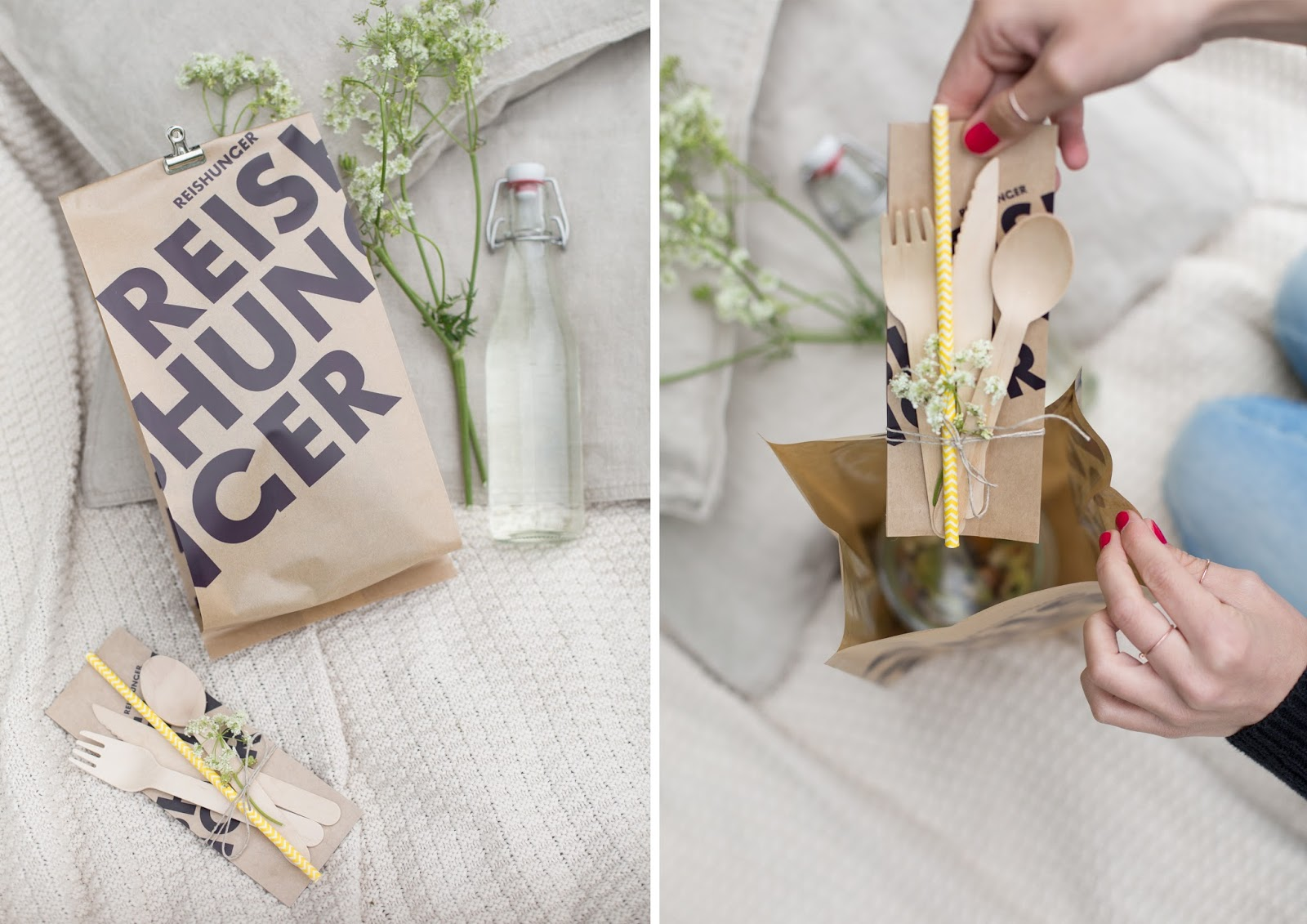 Bestecktüten DIY Reistüten Upcycling