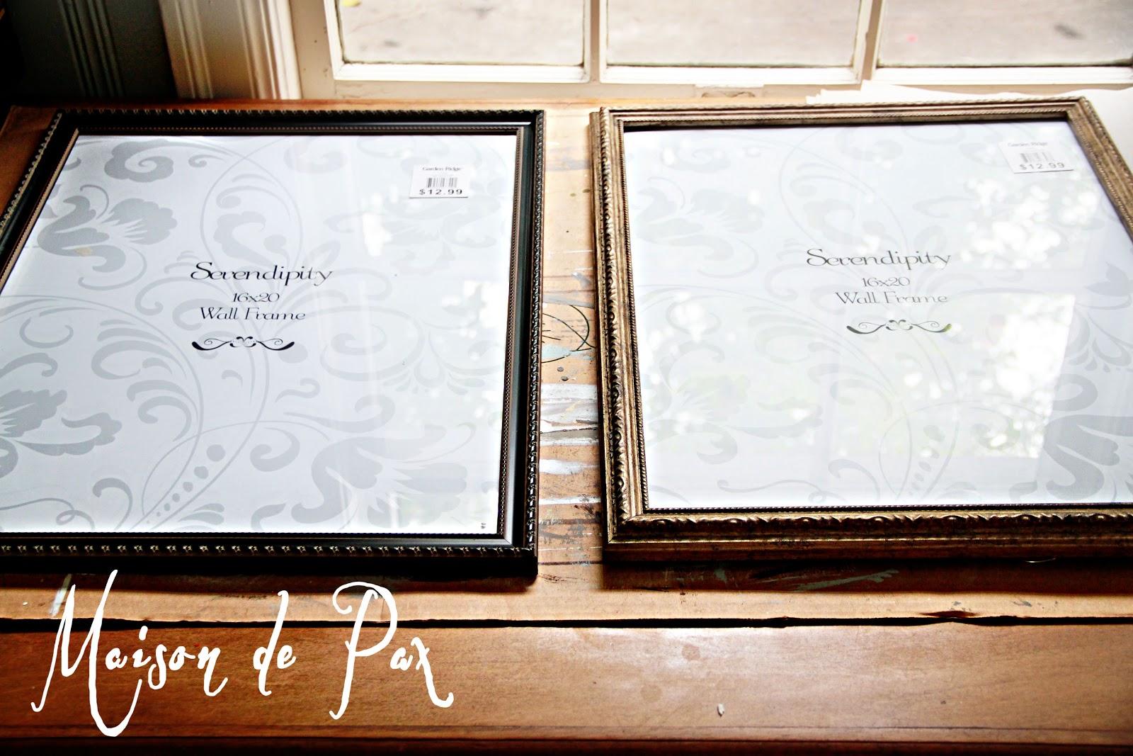 Gilded Frames - Maison de Pax