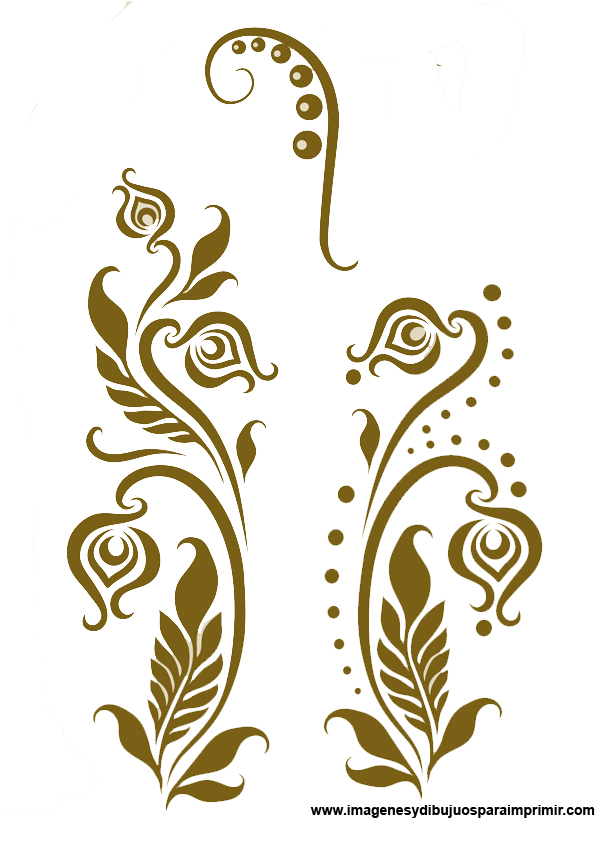Imagenes de flores para bordar imagenes y dibujos para imprimir - Dibujos de cenefas para pintar ...