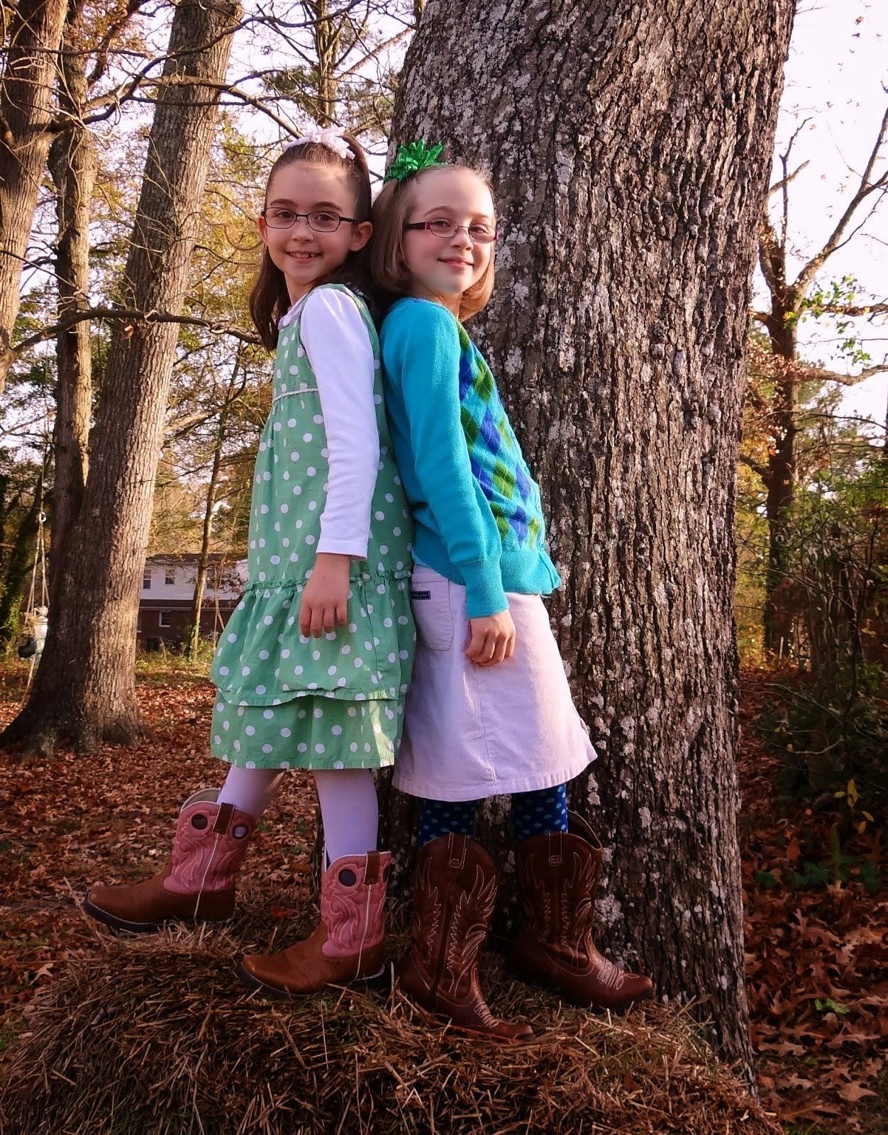 Sweet Little Ladies...