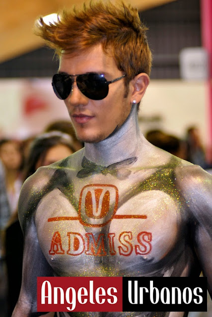 bodypainting advertising admiss