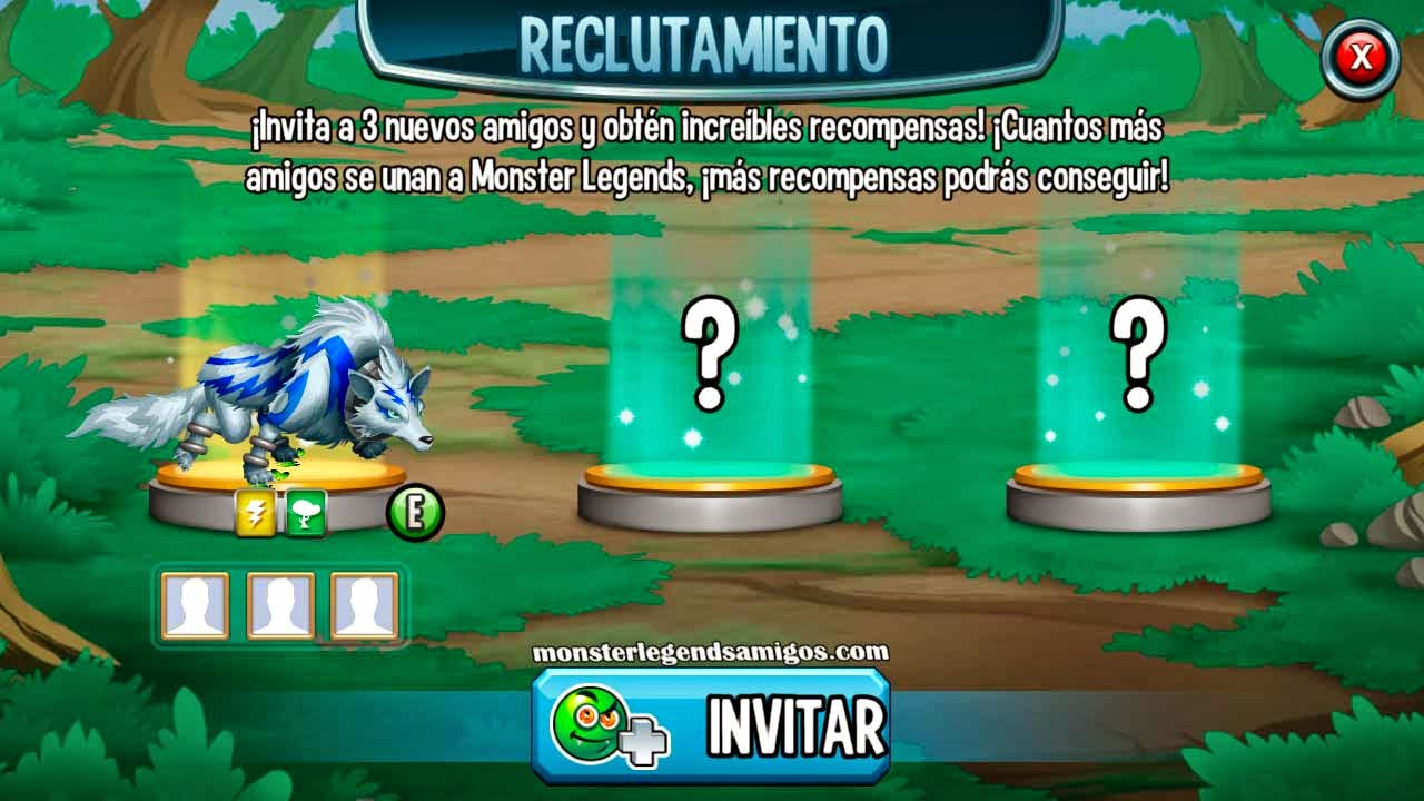 imagen de la taberna de reclutamiento de monster legends mobile
