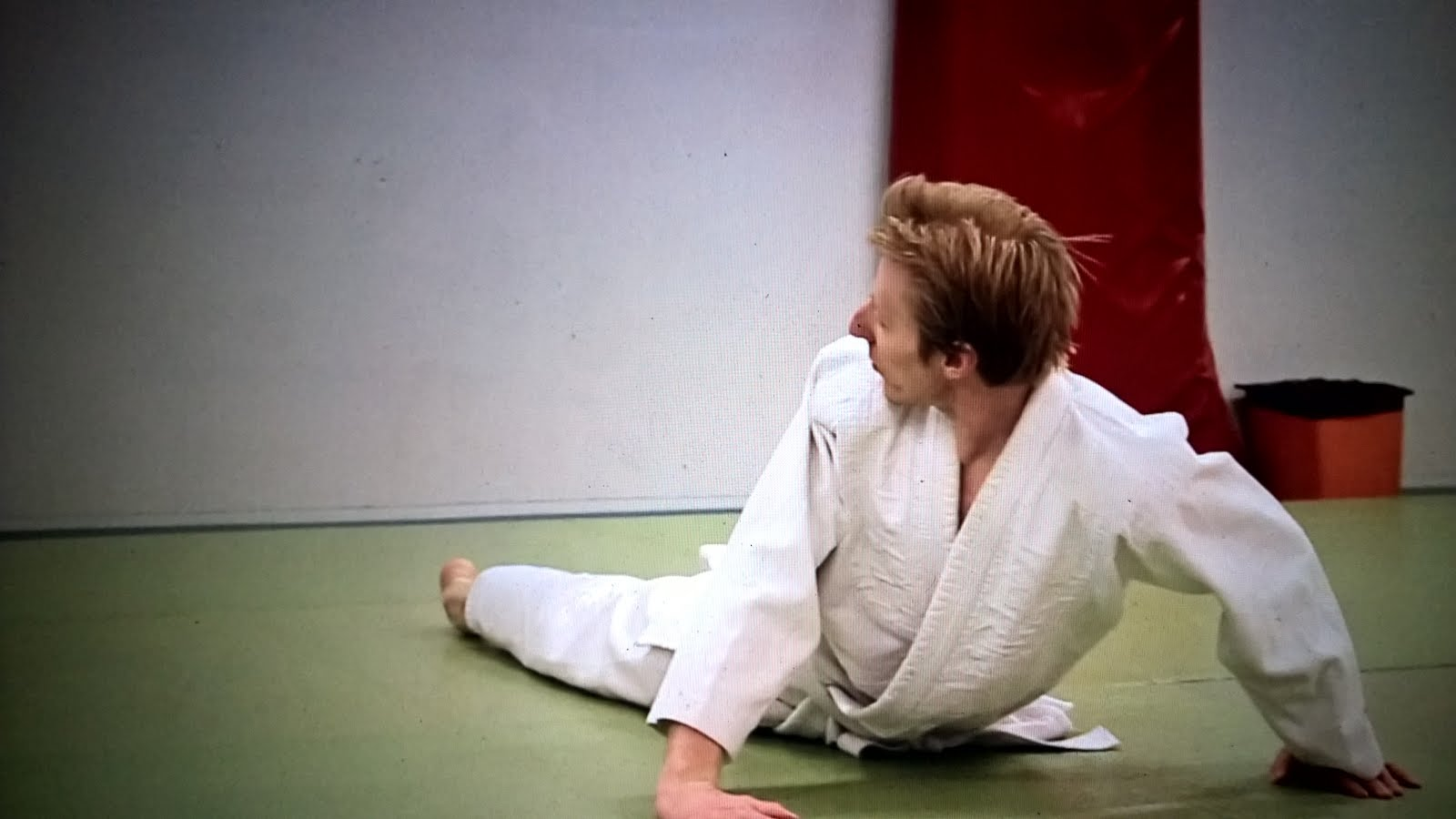 Me in Aikido lesson