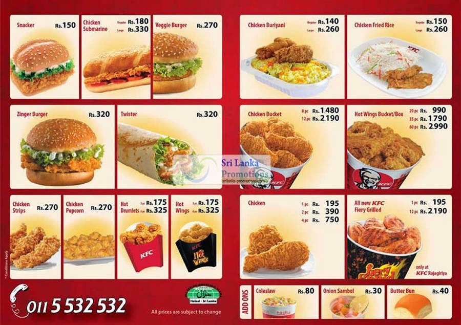 KFC+Menu+Price+List+Philippines Home List Price KFC List Price KFC ...
