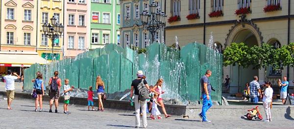 Wrocław Fontanna