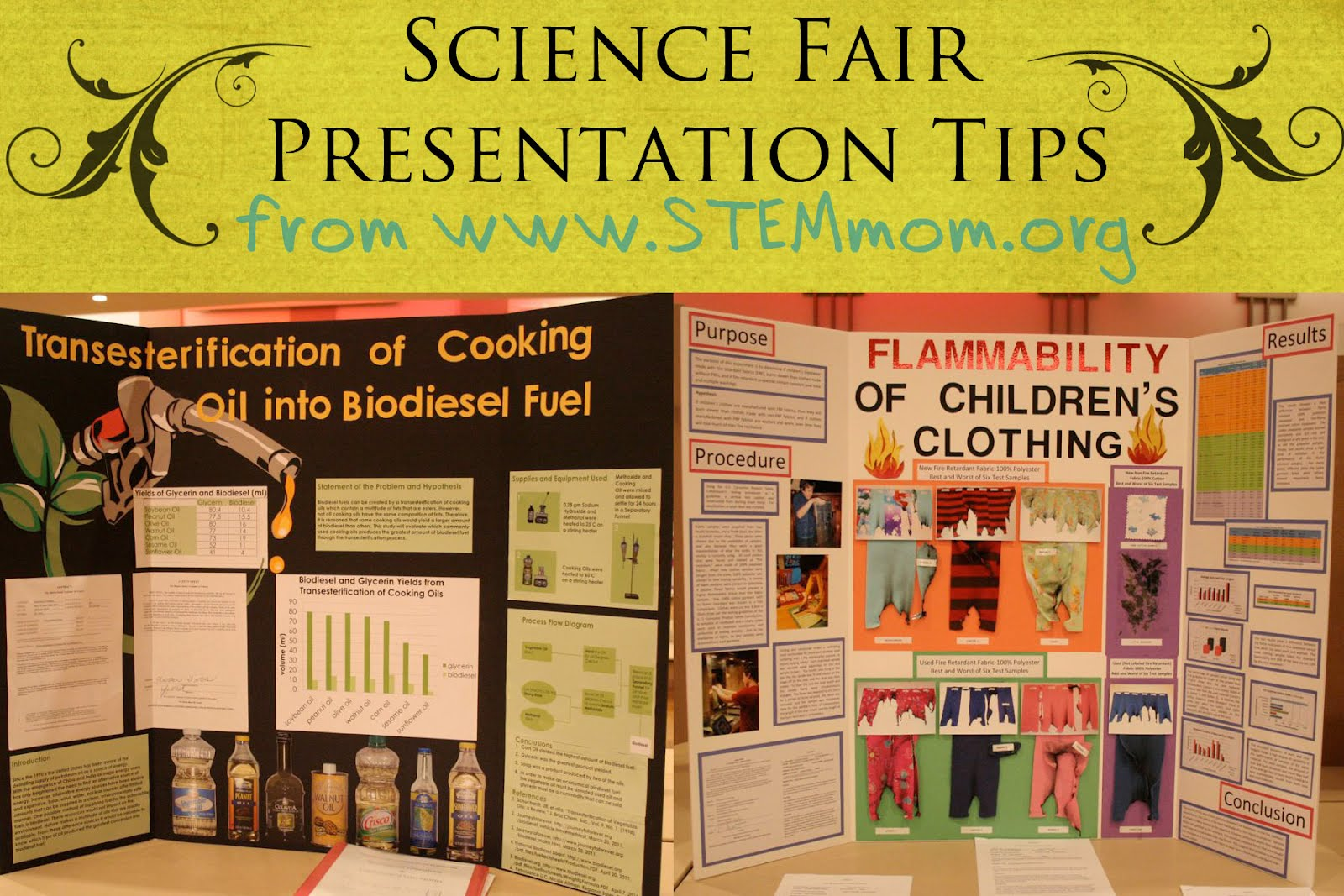 essay for science fair project Compete in the bcm essay writing contest since 2000  about your science fair  project during the summer, which will be entered into a nationwide competition.