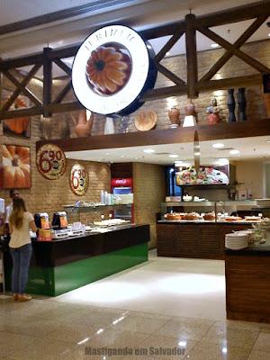 Jerimum Buffet e Forneria: Fachada da loja do Salvador Shopping