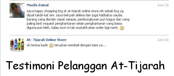At Tijarah Online Store Makanan Timur Tengah