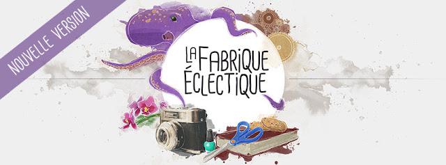 bannière La Fabrique Éclectique pieuvre