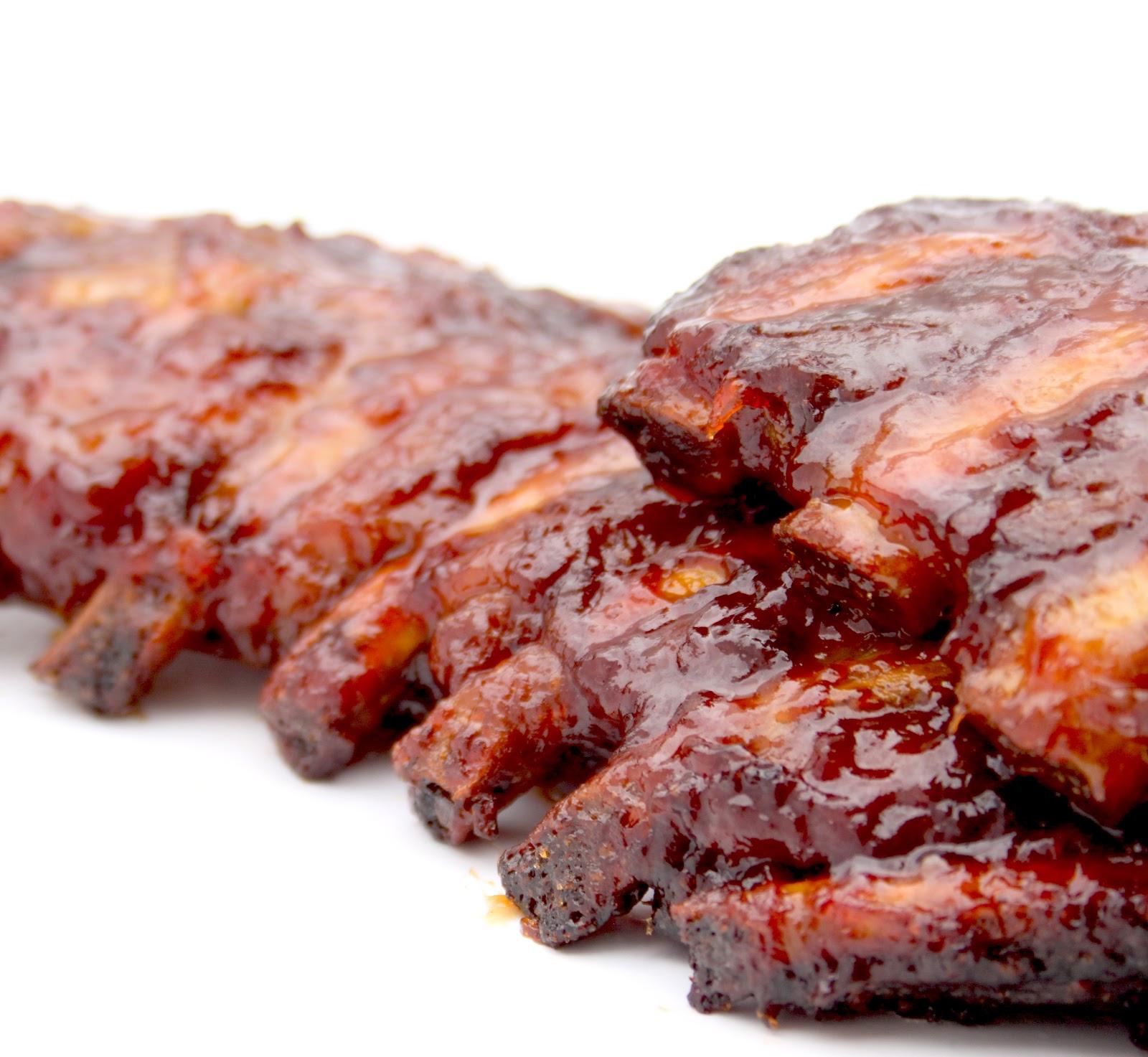 La cuisine de bernard travers de porc grill s sauce barbecue for Marinade pour viande barbecue