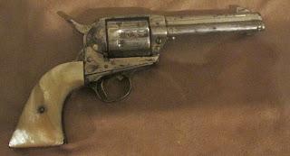 colt prewar smokeless revolver