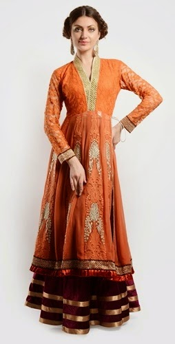 Eid Wear Long Frocks 2014