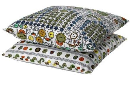 Ikea made some button pillows