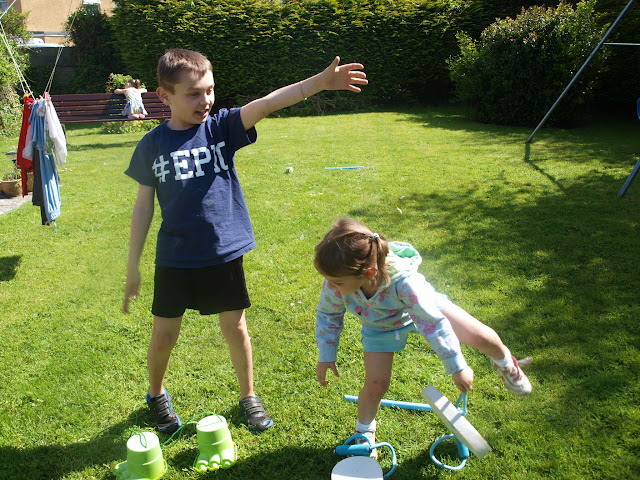 Mark Warner Active Family, Challenge, Get Sporty, race, family, fun, badminton, golf,